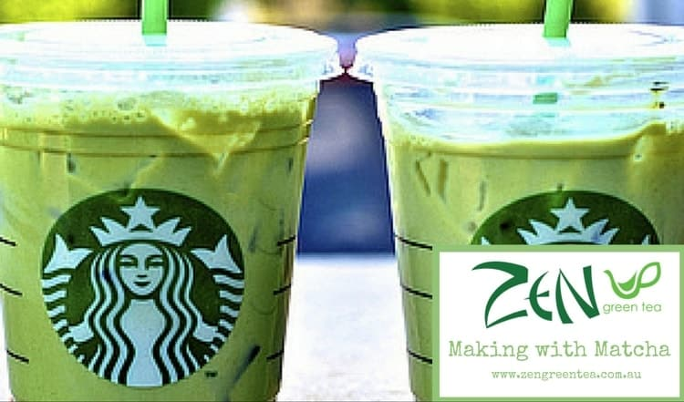 starbucks matcha latte recipe